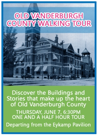 Old Vanderburgh County Walking Tour - Event Graphic copy